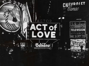 Act of Love, Astor Theatre, 1954. Location: Times Square, Looking North of Broadway and West 45th Street, Northeast Corner.