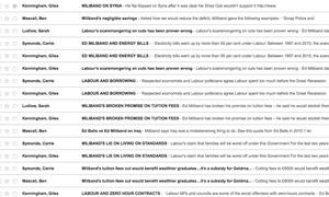 My email inbox
