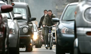 Scottish cyclists are up to three times as likely to be killed on the road as their Danish counterparts, says the campaign group Road Share.