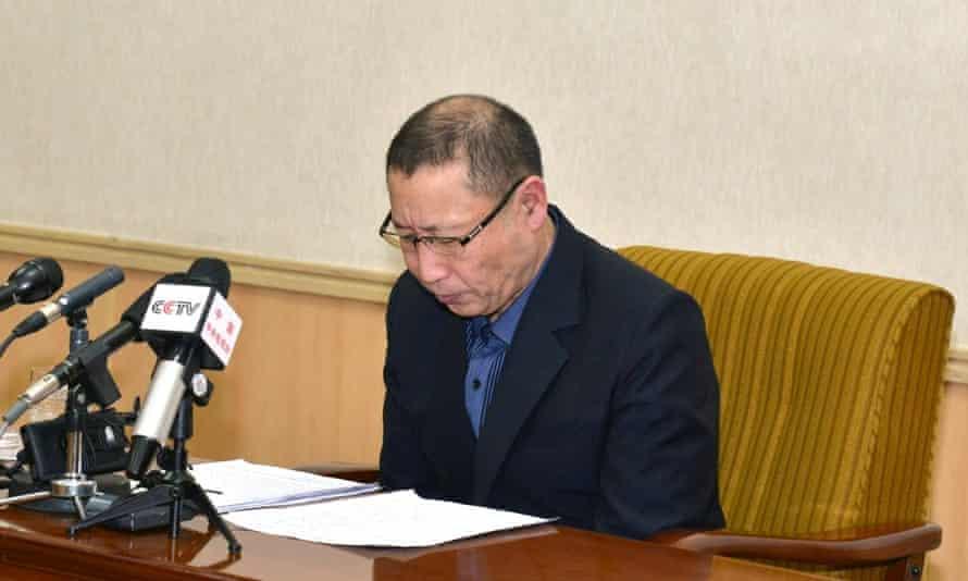 Choe Chun-gil, arrested by North Korea as a spy.