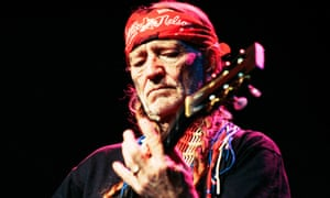 Willie Nelson performing in concert at the Fairfield Hall, Croydon