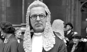 Jeremy Hutchinson QC in 1961