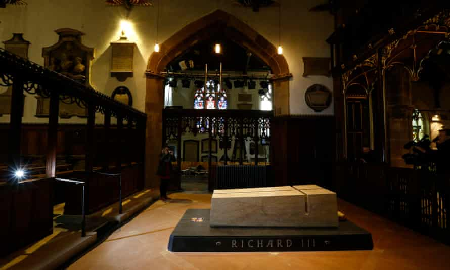 The tomb of King Richard III in Leicester Cathedral