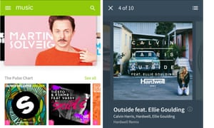 Beatport app for Android.