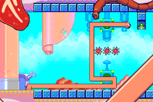 Silly Sausage in Meat Land for Android.