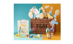 Top 12 chocolate free easter gifts life and style the guardian fortnum and mason easter egg hamper negle Images