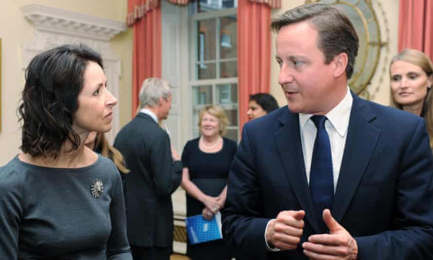 Morrissey meeting David Cameron at 10 Downing Street in 2011.