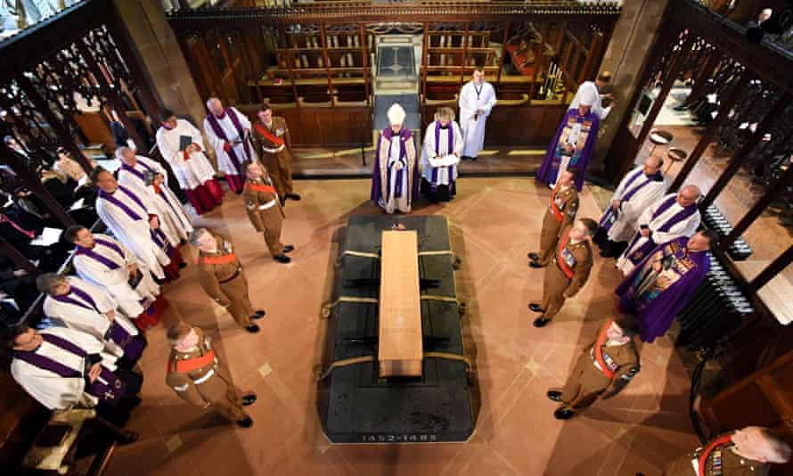 Richard III reburial