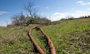 Exxon flow lines