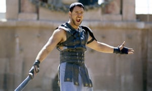 Crowe in Gladiator, 2000.