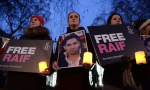 Raif Badawi vigil