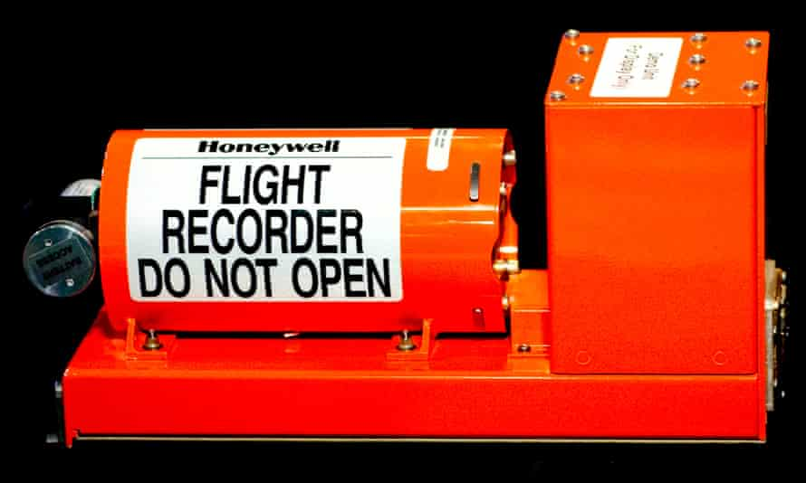 Black box recorders – usually orange – can survive an hour of 1,100-degree Celsius fire, or a weight of 227kg, but are not indestructible.