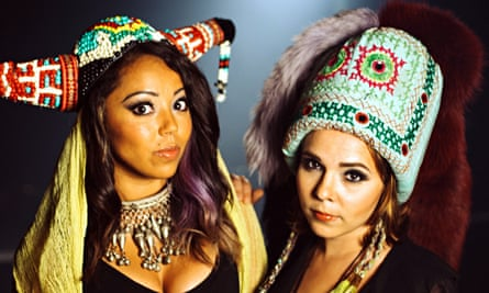 Daphne and Celeste, with Celest on left and Karen DiConcetto