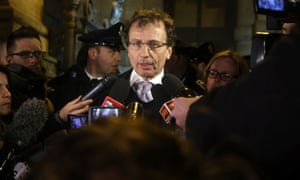 Meredith Kercher's family lawyer, Francesco Maresca, talks to the press about the verdict.