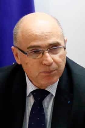 French prosecutor Brice Robin
