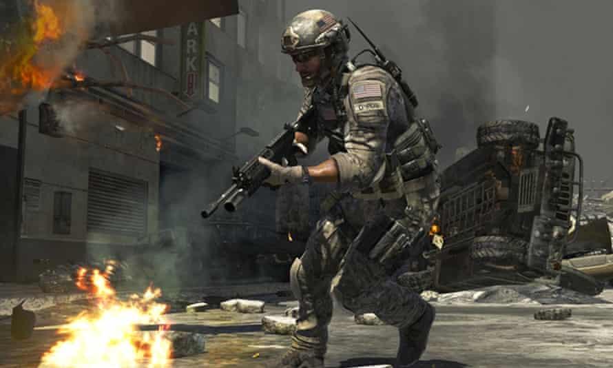 A scene from Call of Duty: Modern Warfare 3.