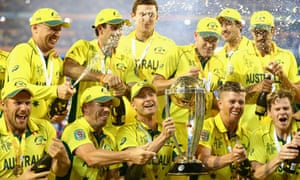 Australia Win Cricket World Cup 2015 Final Against New