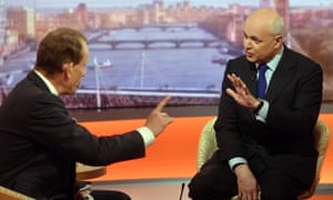 Iain Duncan Smith and Andrew Marr