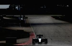 Nico Rosberg of Mercedes GP drives.