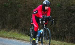 Endurance cyclist Steve Abraham