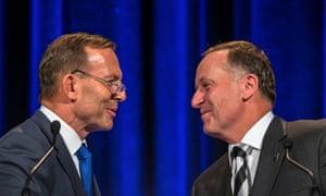 Tony Abbott and John Key