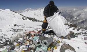 Everest waste