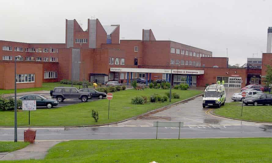 Furness general hospital in Barrow, Cumbria.