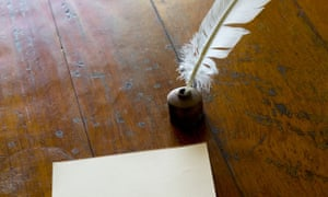 quill and paper
