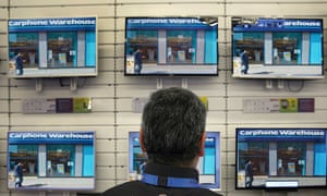European consumers are upgrading to larger TV sizes, even though more than 60% of replaced televisions were still functioning in 2012.