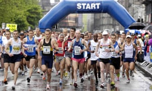 How much slower than your planned marathon pace should you take your training runs?