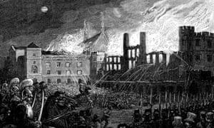 Burning of Parliament, 16 October 1834