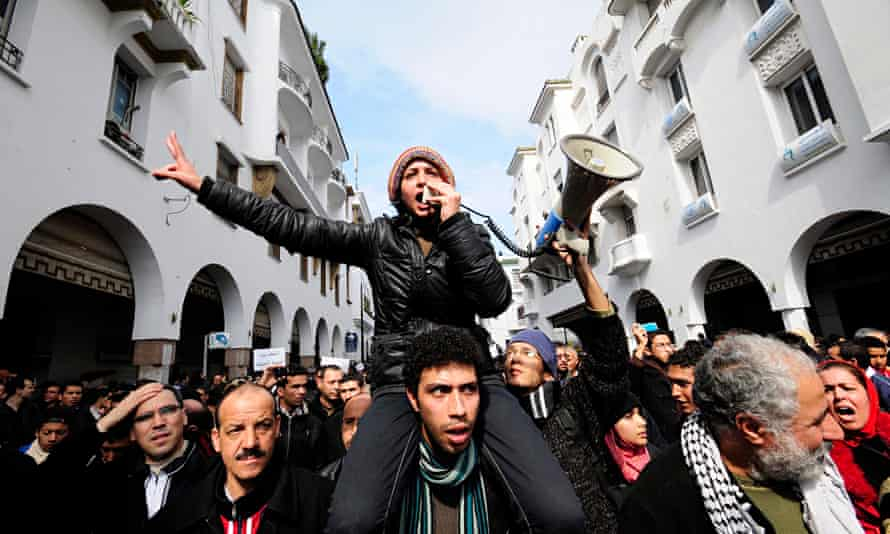 Day of Pride protests in Morocco