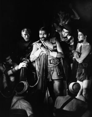 Edric Connor in Pericles at the Shakespeare Memorial Theatre, 1958