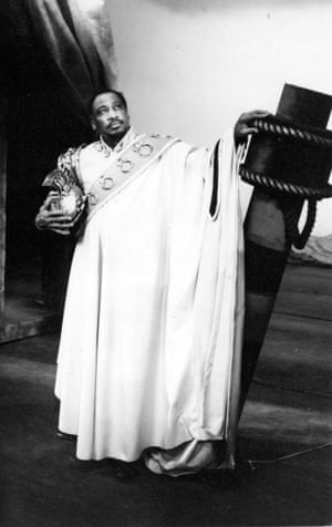 Paul Robeson as Othello at the Shakespeare Memorial Theatre, 1959