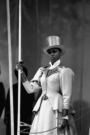 Josette Simon in Loves Labours Lost at the RSC, 1984