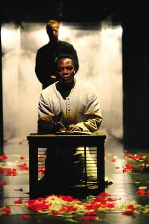 Chuk Iwuji as Henry VI at the RSC, 2006