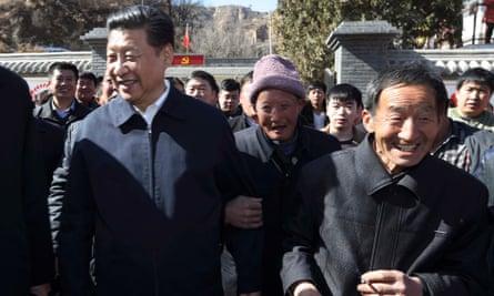 Xi Jinping visits Liangjiahe Village