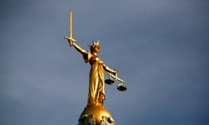 Old Bailey Statue