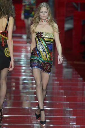 Versace, Milan fashion week AW15