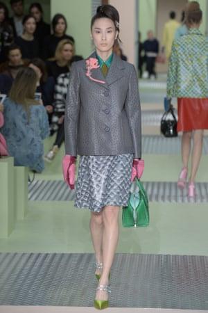 Prada, Milan fashion week AW15