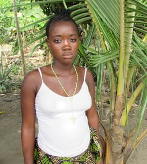 Ebola orphan in Sierra Leone