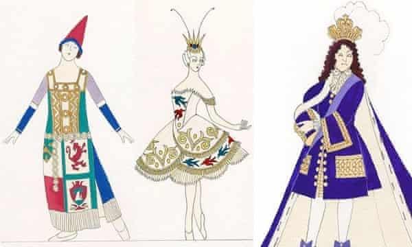 ABT sleeping beauty costume designs by richard hudson