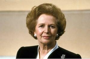 Margaret Thatcher in 1989