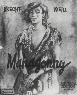 A book of songs from Rise and Fall of the City of Mahagonny, published in 1931.