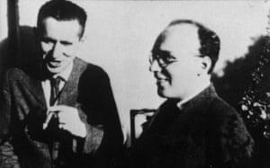 Bertolt Brecht and Kurt Weill in 1930.