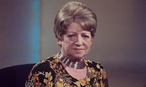 Fania Fenelon in 1977. Photograph: ITV/REX