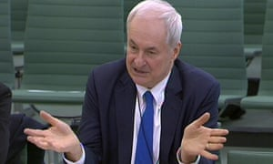 Paul Gambaccini gives evidence to the home affairs committee on police bail on Tuesday.