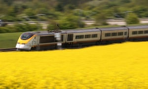 Eurostar is a profitable service that the government is cashing in its 40% stake in.