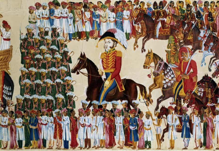An East India Company grandee.