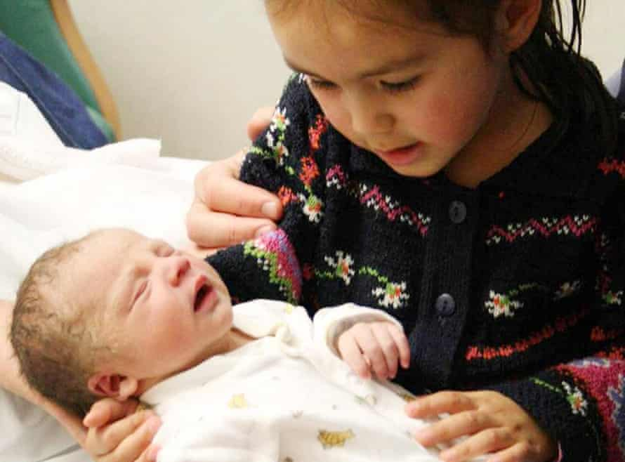 Joshua Titcombe, who died at Furness hospital, with his sister Emily. Their father, James, said: 'The lack of clinical governance, the fact that these were people protecting themselves, they lost track of mothers and babies … this report really lays out how preventable Joshua's death was.'